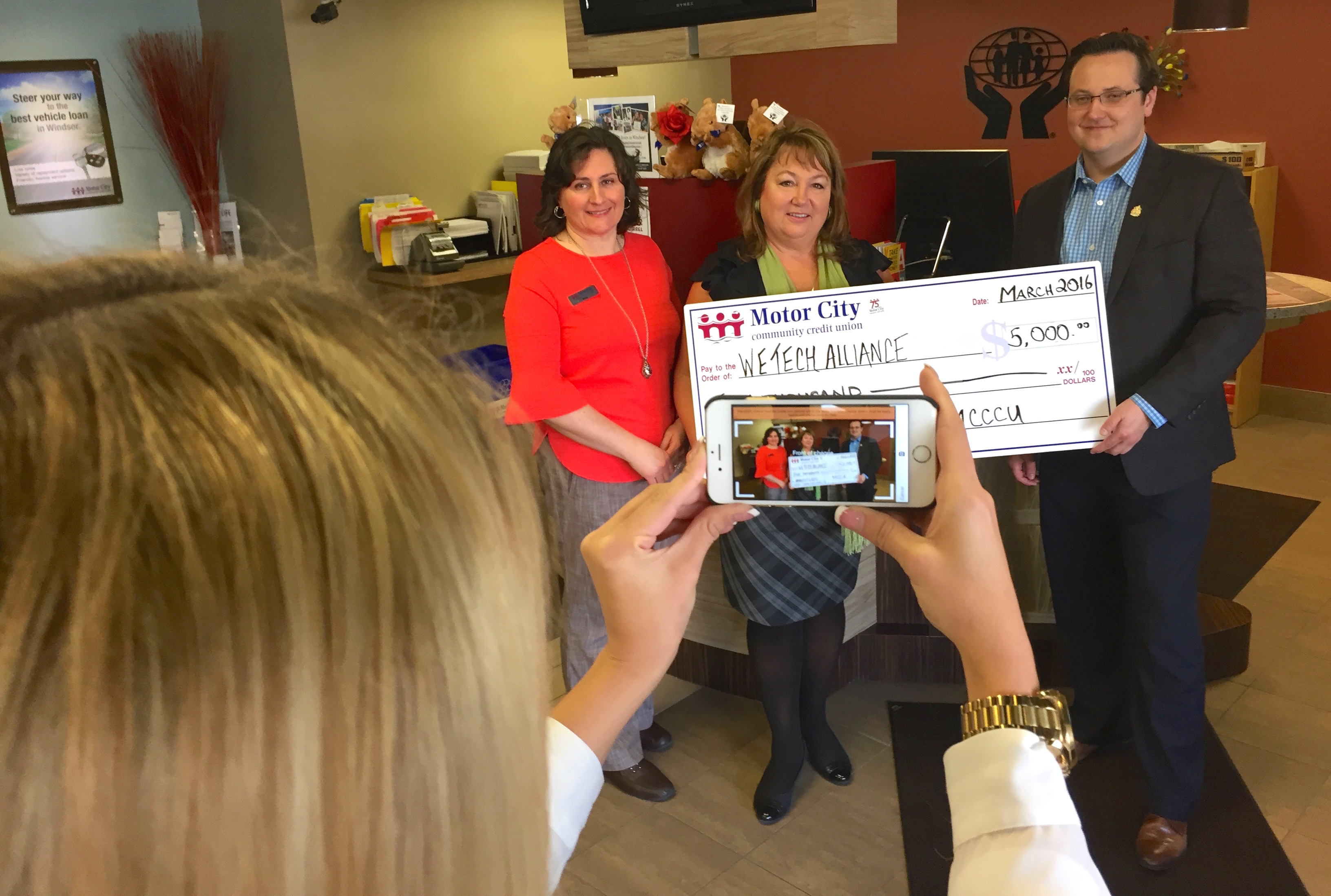 Wetech alliance gets boost from motor city community for Motor city community credit union