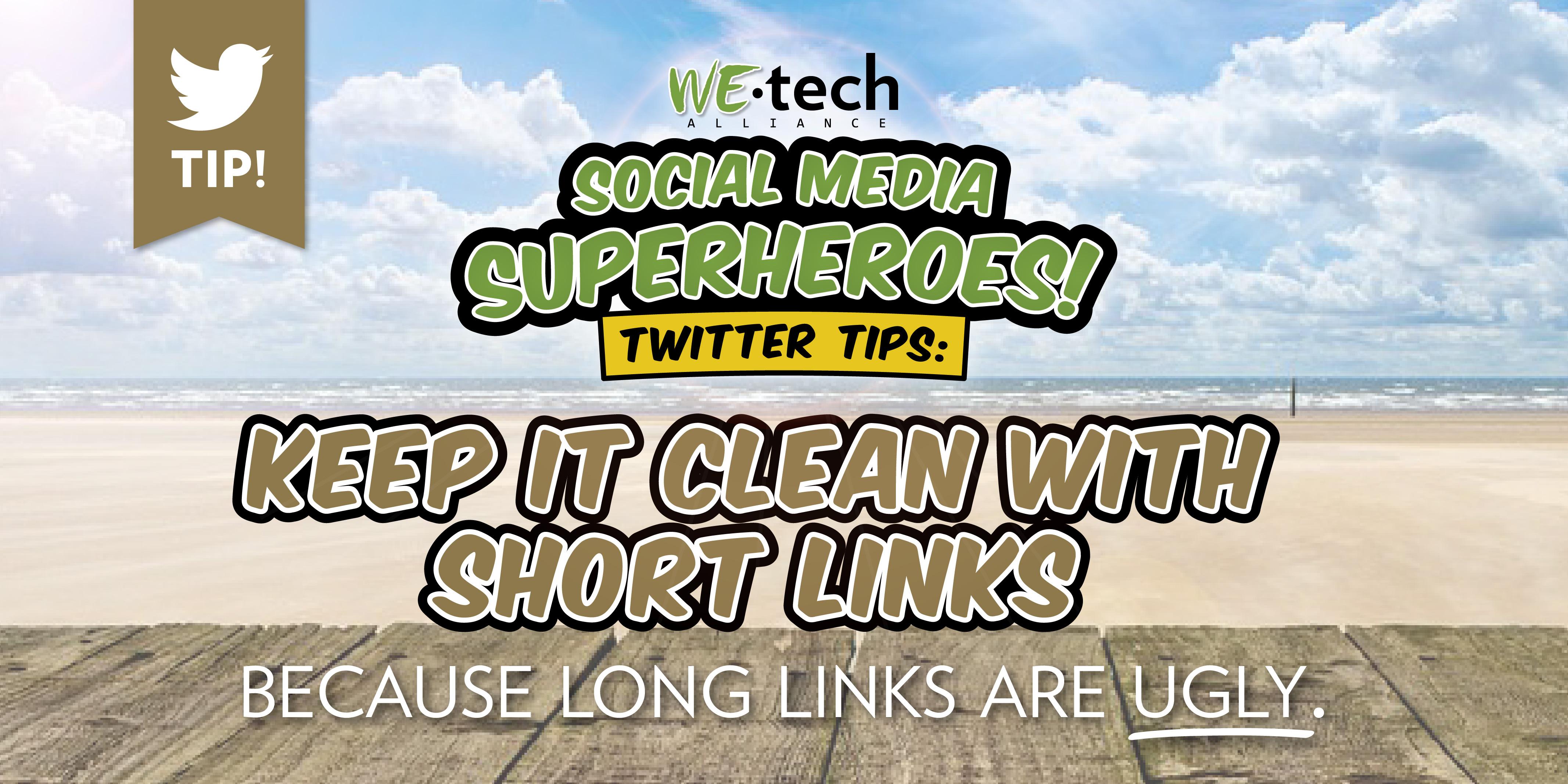 twitter tips short links