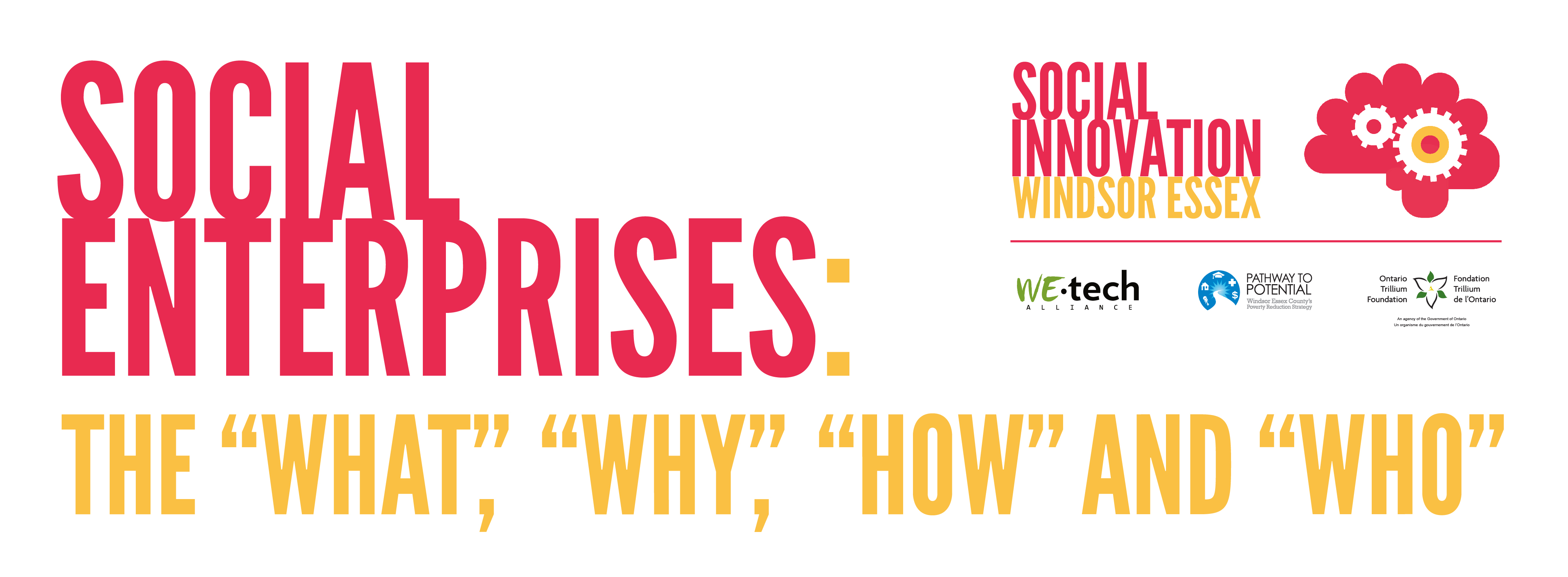 Social Enterprises: The What, Why, How and Who – WEtech Alliance