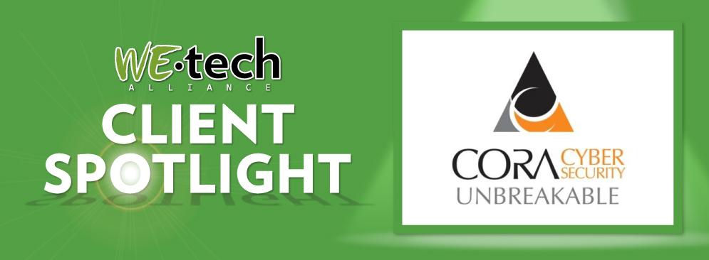 Client Spotlight: CORA Cyber Security – WEtech Alliance
