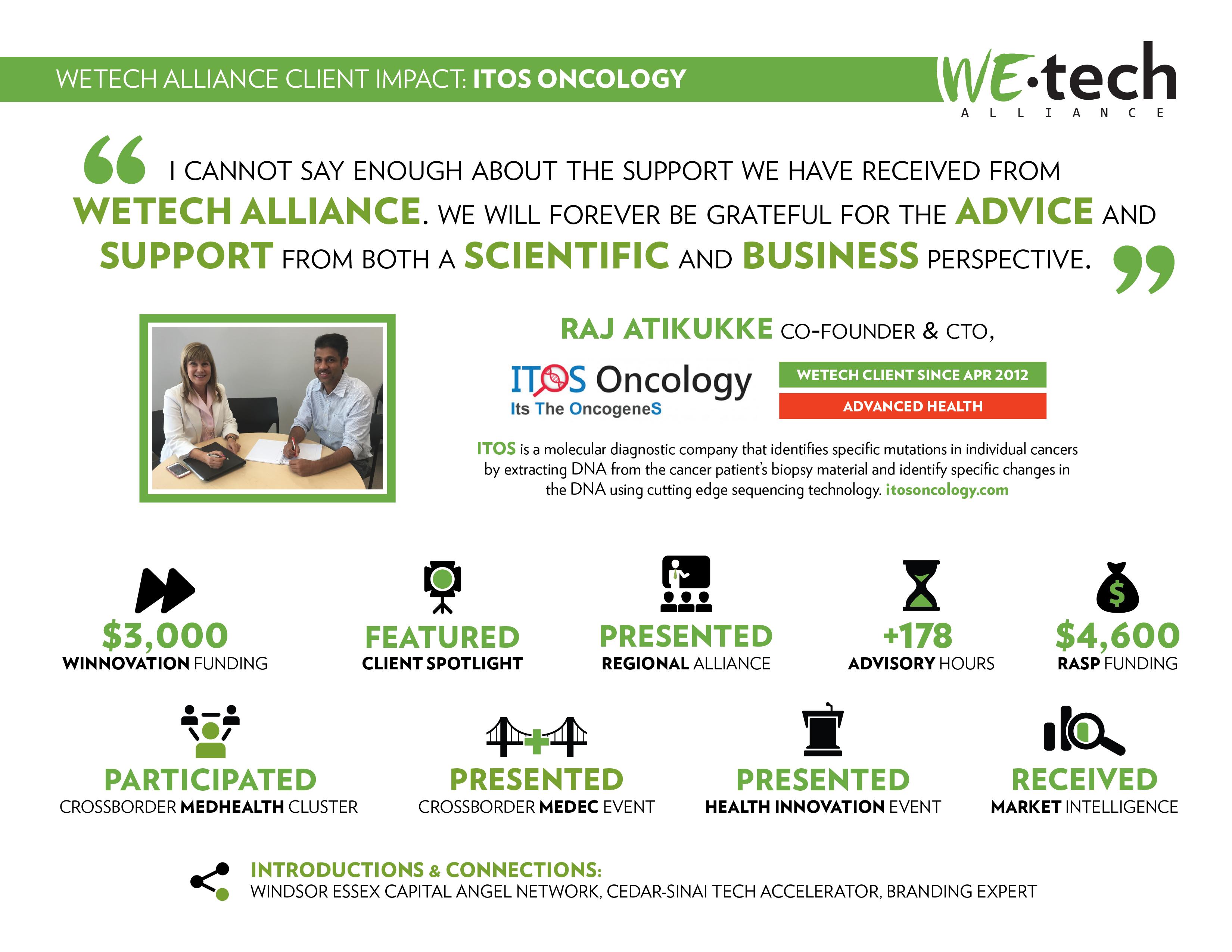 Client Impact: ITOS – WEtech Alliance