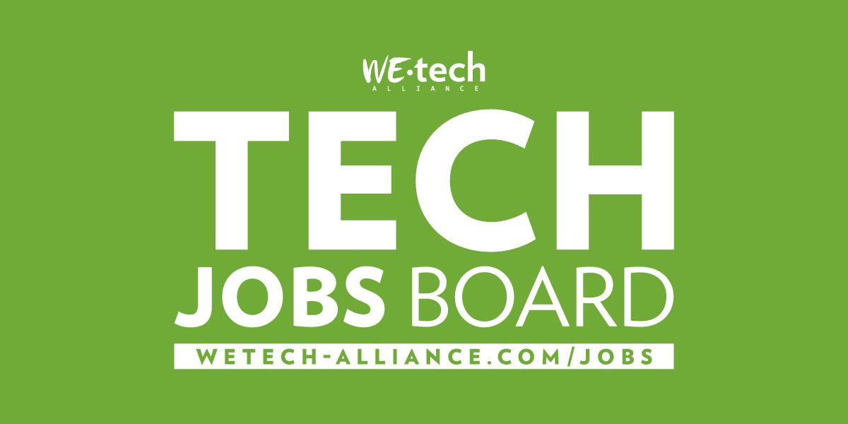 Tech Jobs – WEtech Alliance