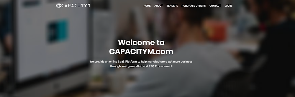 CapacityM provides an online platform that connects manufacturers with other manufacturers with excess capacity.